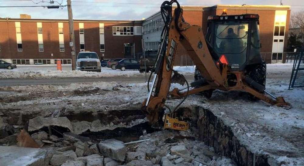 Excavation Gatineau and equipment rental